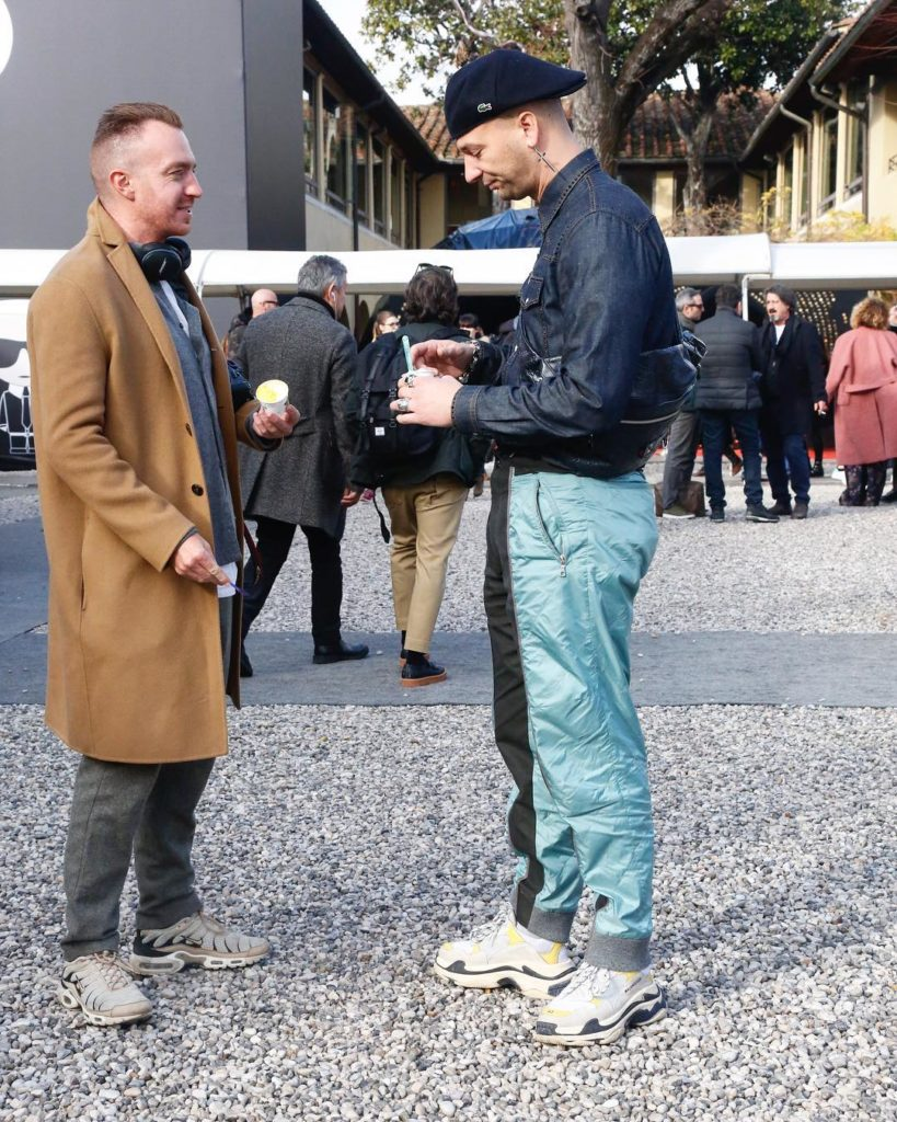 Spotted  bleumode  pitti pittiuomo pu93 report onemoreaddiction giulianapolihellip