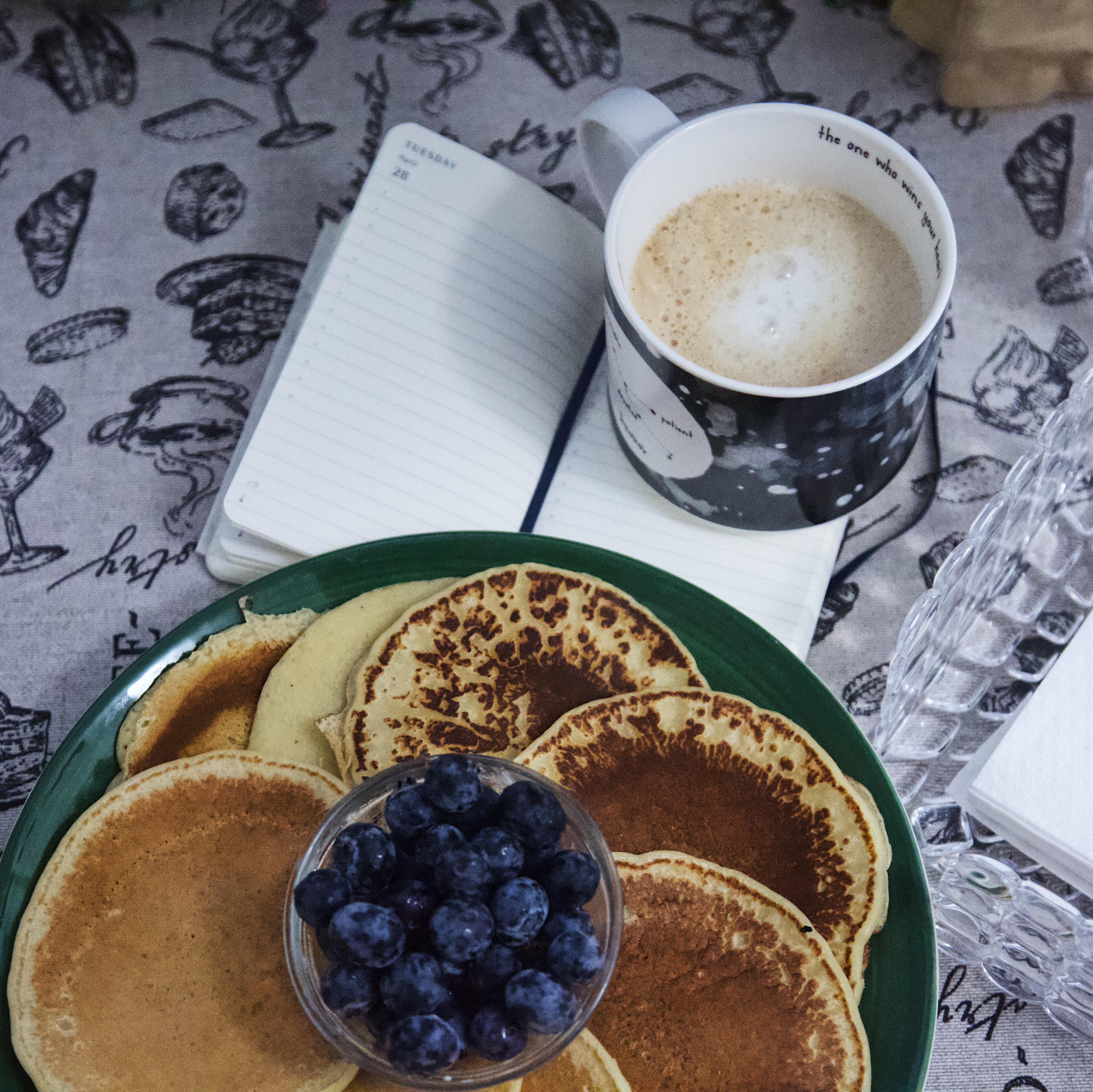 pancakes, pancakes light, ricetta semplice pancakes, onemoreaddiction